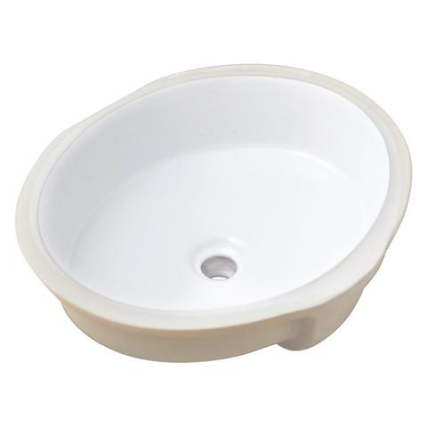 "KASU - CF - Under Mount Oval/Circular Bathroom Sink - 19"" x 16 1/8"" x 7"""