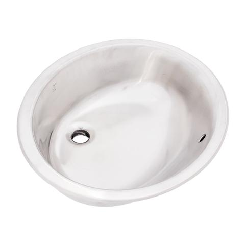 "KASU - CM - Stainless Steel Bathroom Sink - 19 1/4"" x 16 1/4"" x 7"""