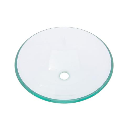 "KASU G - Round Clear Vessel Sink - 16 1/2"" x 6"""