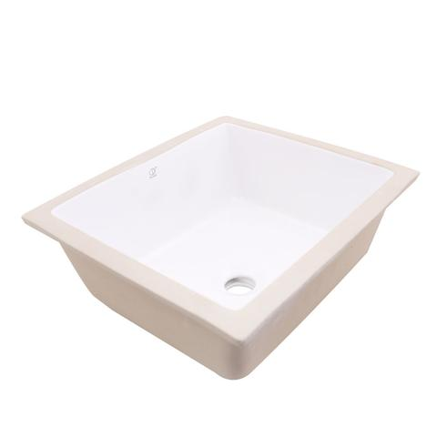 "KASU - SD2 - Sqaure Under Mount Designer Bathroom Sink - 15 7/8"" x 15 7/8"" x 7"""