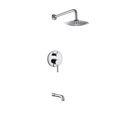 MADISON - Shower Head & Tub Filler Collection - Set Four