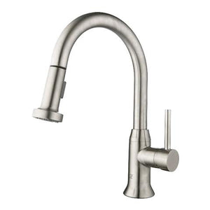 MASA - Pull-Down Kitchen Faucet - Brushed Nickel