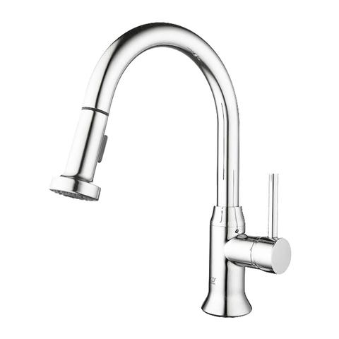 MASA - Pull-Down Kitchen Faucet - Polished Chrome