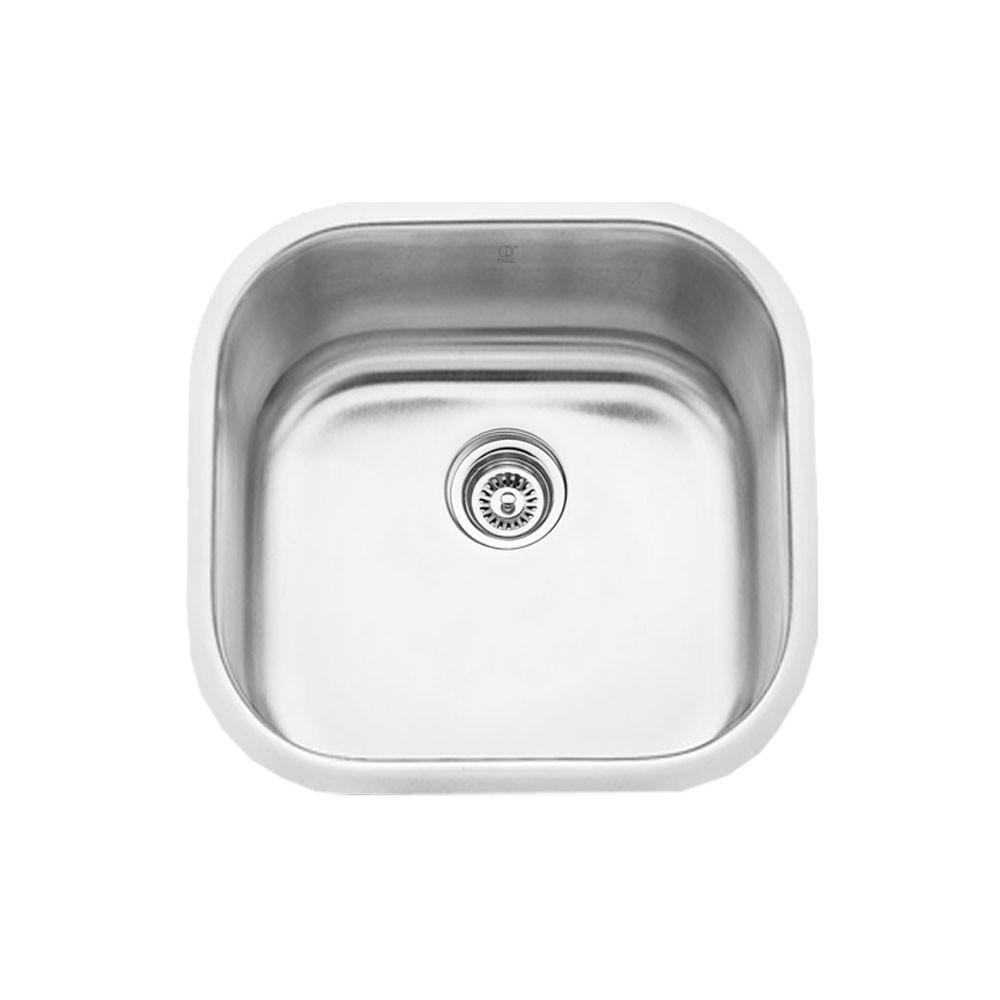 MELO - LUNA - Single Bowl Laundry Room Sink - 20 1/4 x 20 1/4 x 10""