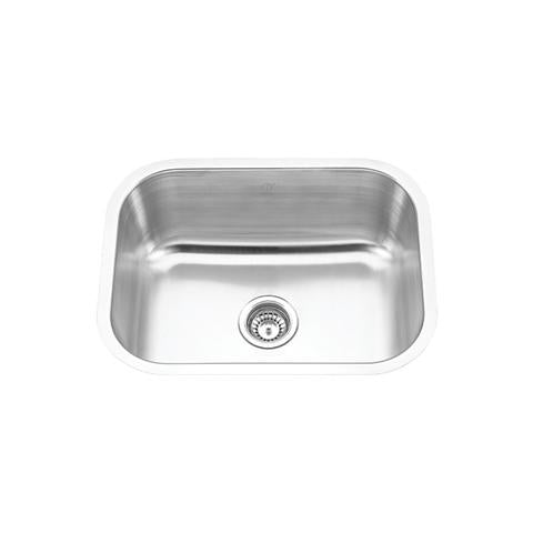 "MELO - Mini - Under Mount Bar & Laundry Room Sink - 23"" x 17 3/4"" x 9"""