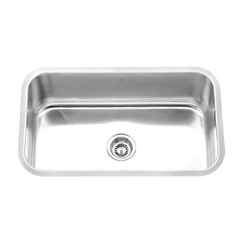 "Melo Papa - Single Bowl Kitchen Sink - 30"" x 18 1/8"" x 9"""
