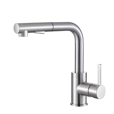 OLIVIA - Pull-Out Kitchen Faucet - Brushed Nickel