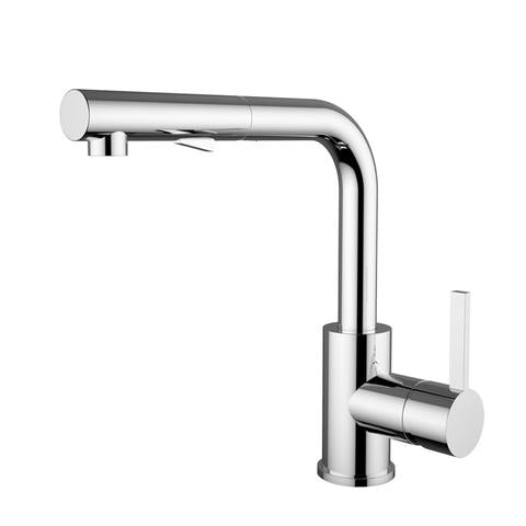OLIVIA - Modern Kitchen Faucet - Polished Chrome