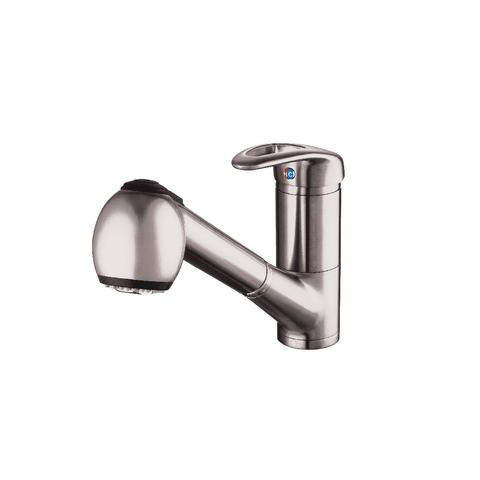 SKYLINE - Pull Out - Laundry Room/Kitchen Faucet - Brushed Nickel