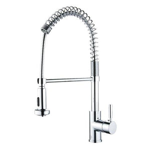 SPRING SPOUT - Coil Designer Kitchen Faucet - Polished Chrome