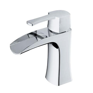 TAKKA - Designer Open Concept Vanity Faucet - Polished Chrome