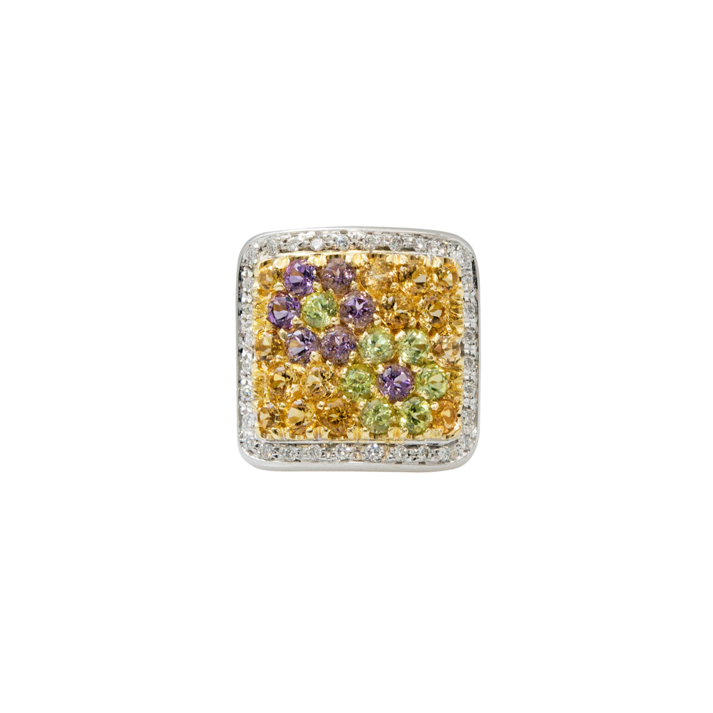 Pasquale Bruni Semi-Precious Stone & Diamond Ring