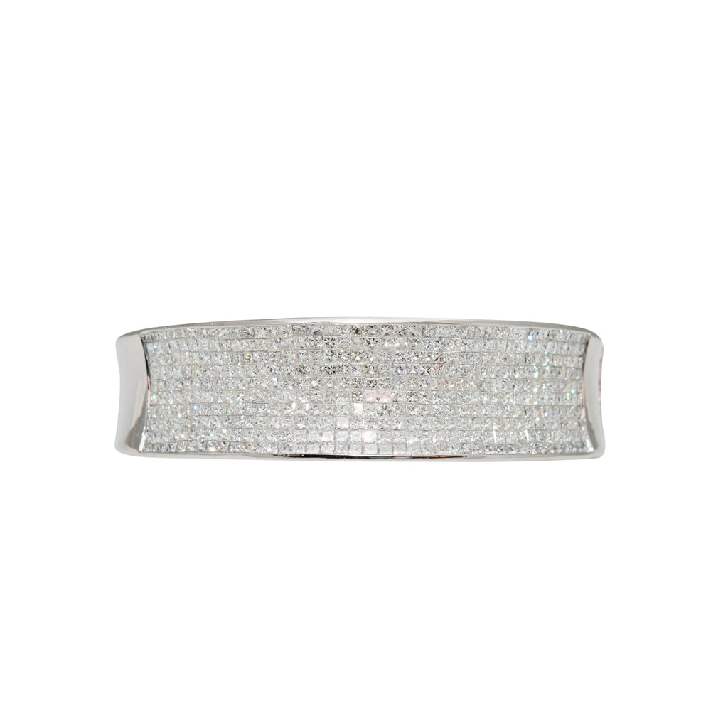 Fashionable Diamond Bangle