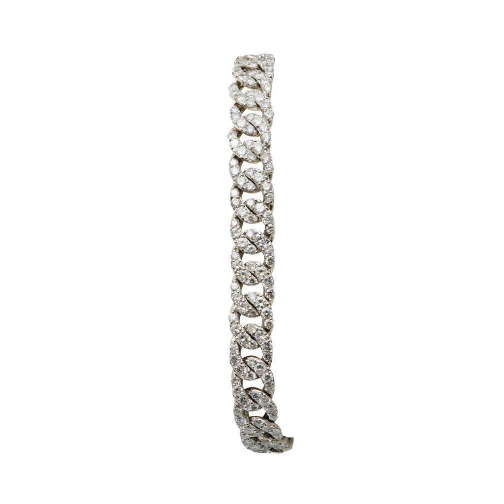 Chain Link Diamond Bracelet