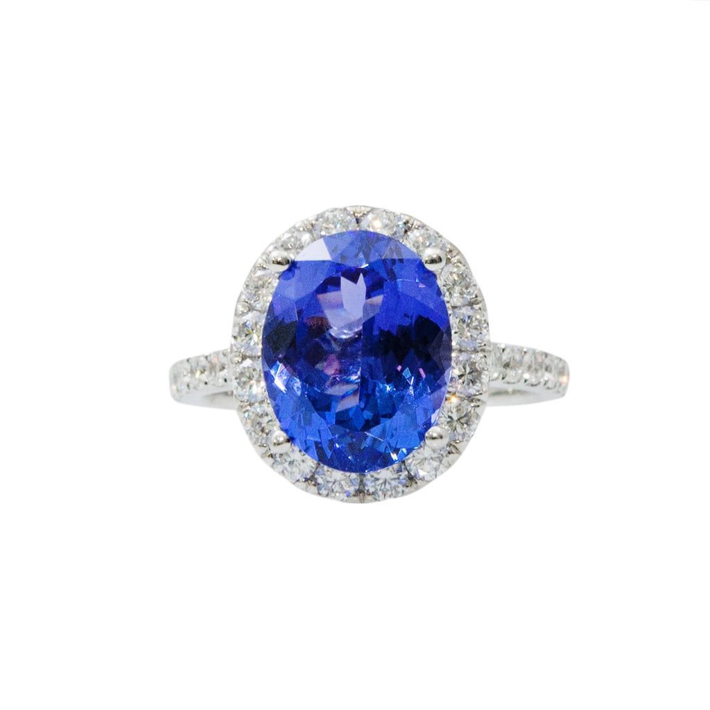 Tanzanite & Diamond Fashion Ring