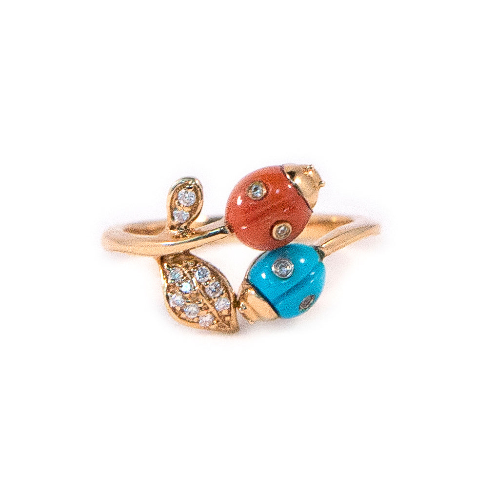 Ladybugs Diamond Ring