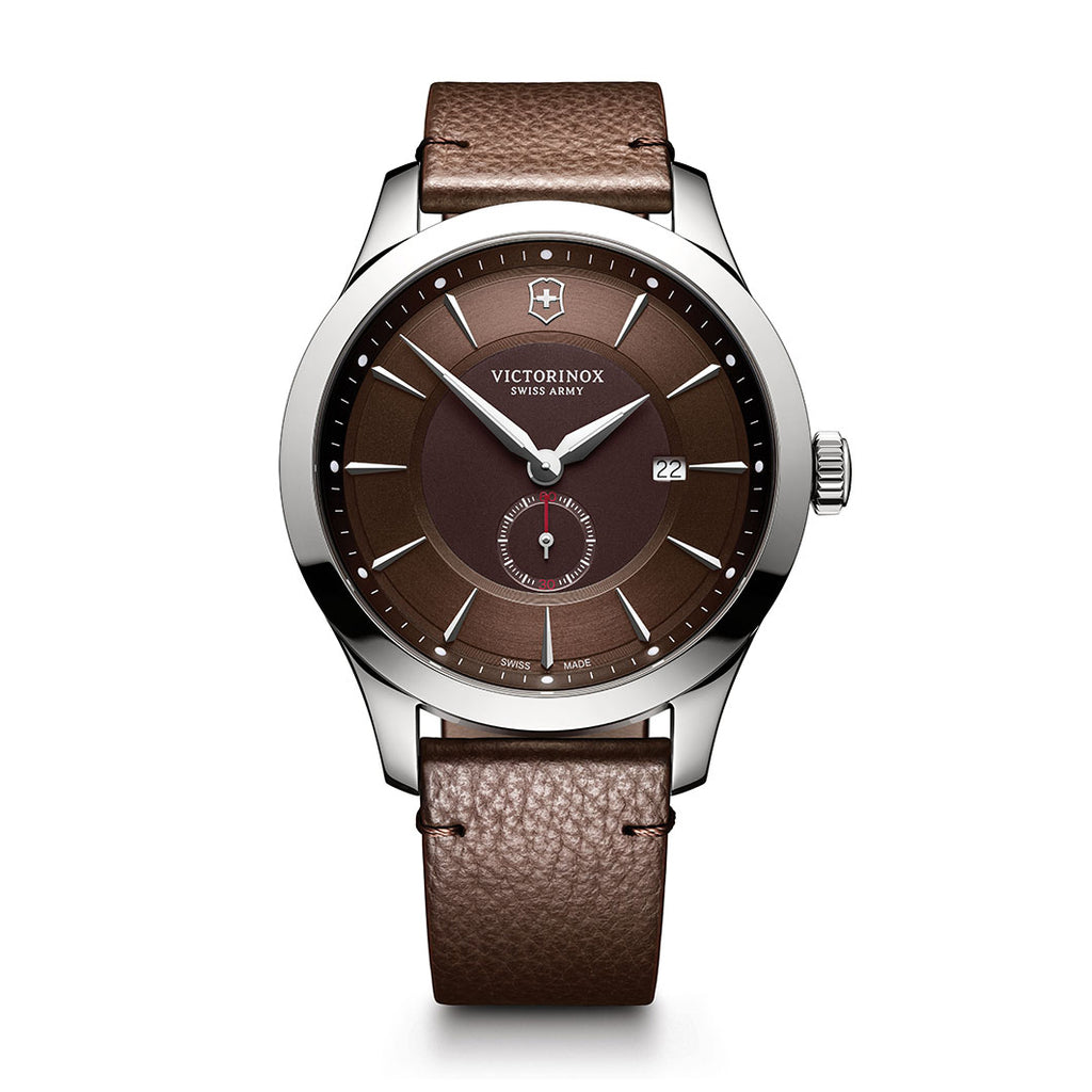 Alliance Brown Leather Watch