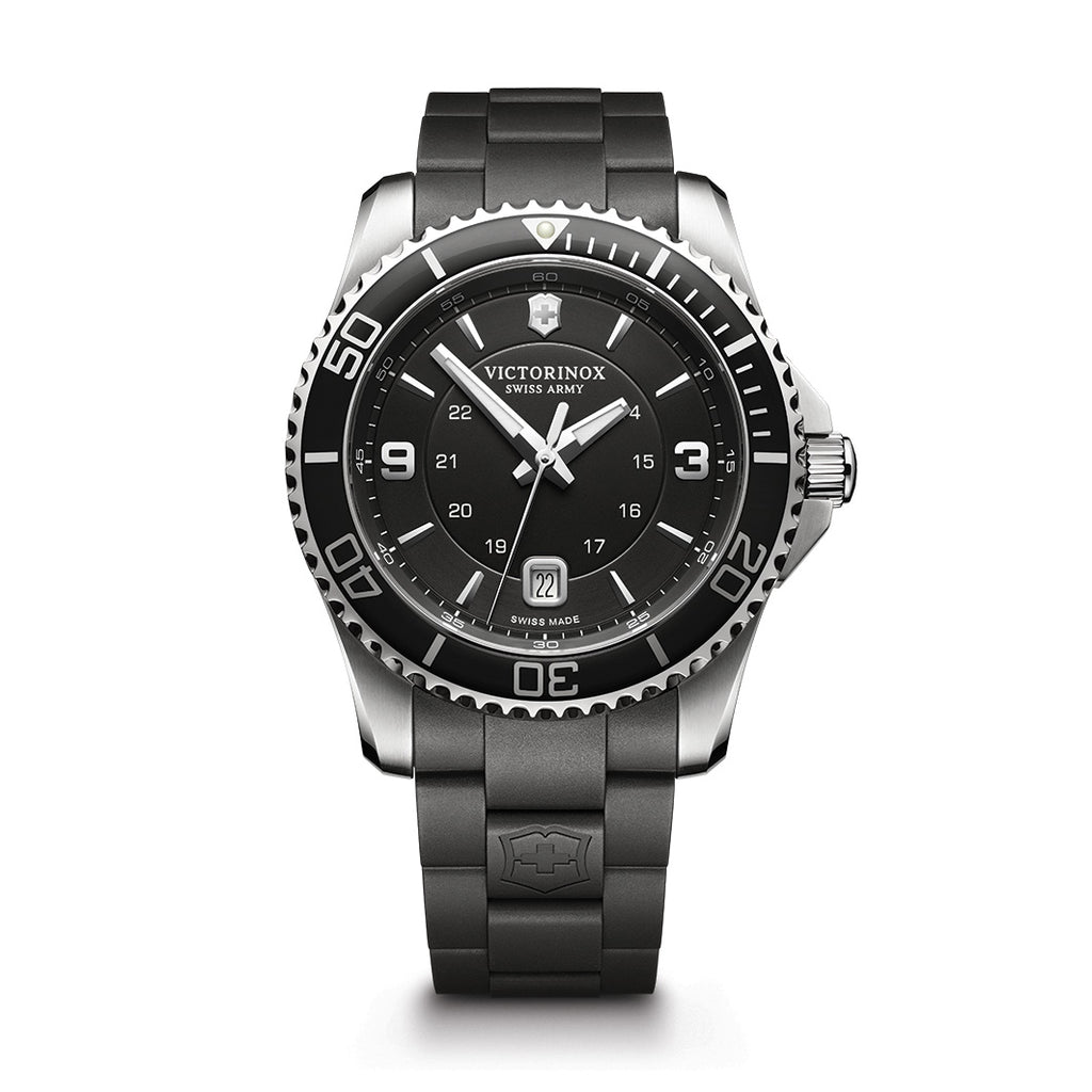 Maverick Large Black dial watch
