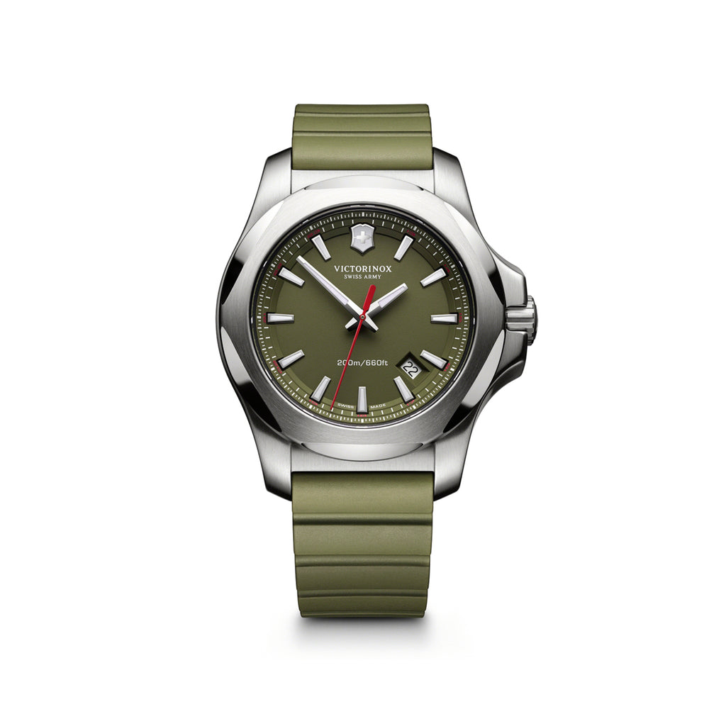 I.N.O.X green rubber watch