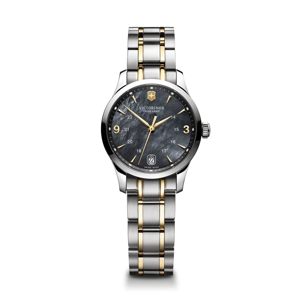 Alliance Analog Two Tone Watch