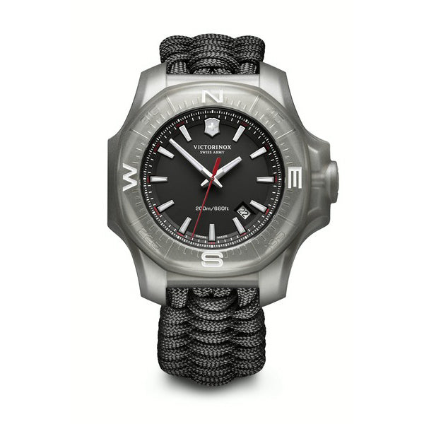 I.N.O.X black dial watch
