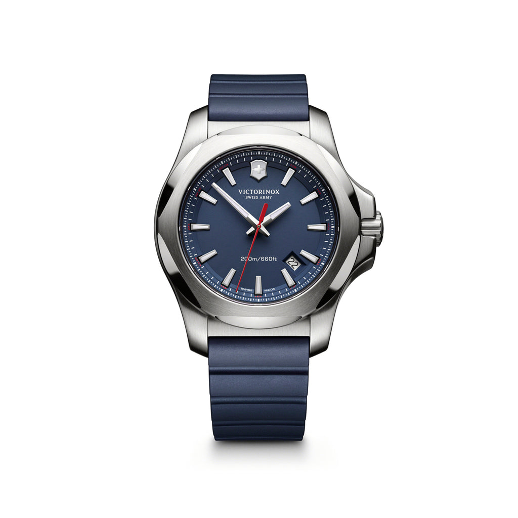 I.N.O.X blue rubber watch