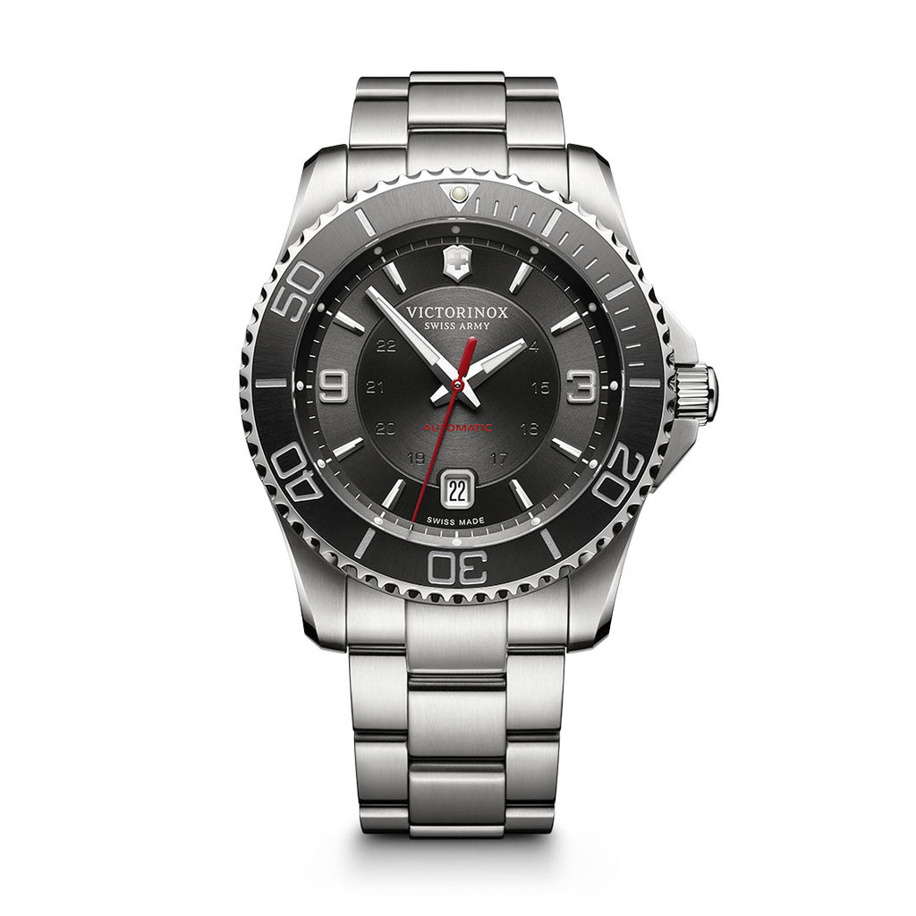 Maverick Mechanical Black Dial Watch
