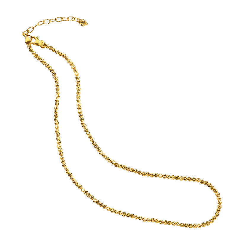 Yellow Goldplated necklace
