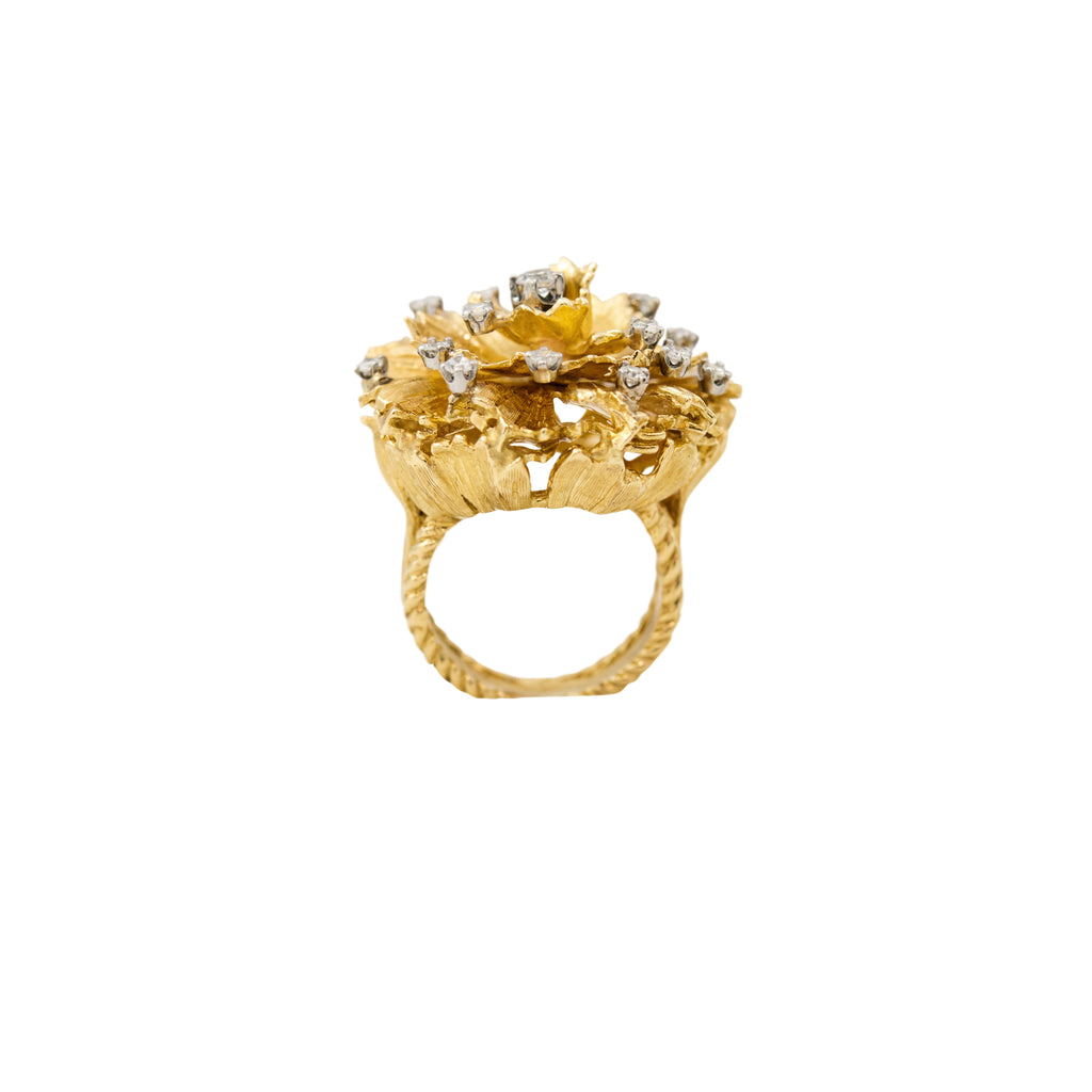 Estate Jewelry Gold Diamond Ring