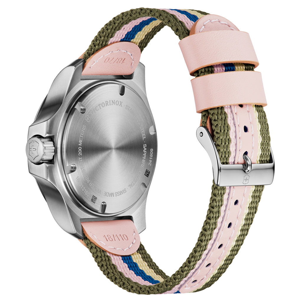 I.N.O.X Multicolor Dial & Fabric Strap Ladies Watch