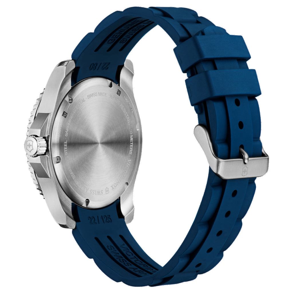 Maverick Large Blue Rubber Band Watch