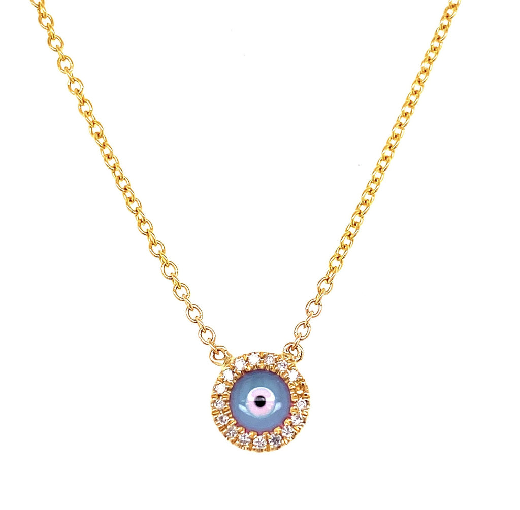 "Dainty diamond necklace  14k white gold  Secure lobster clasp  22 small diamonds 0.04 cts  17"" long with sizing loop at 16"""