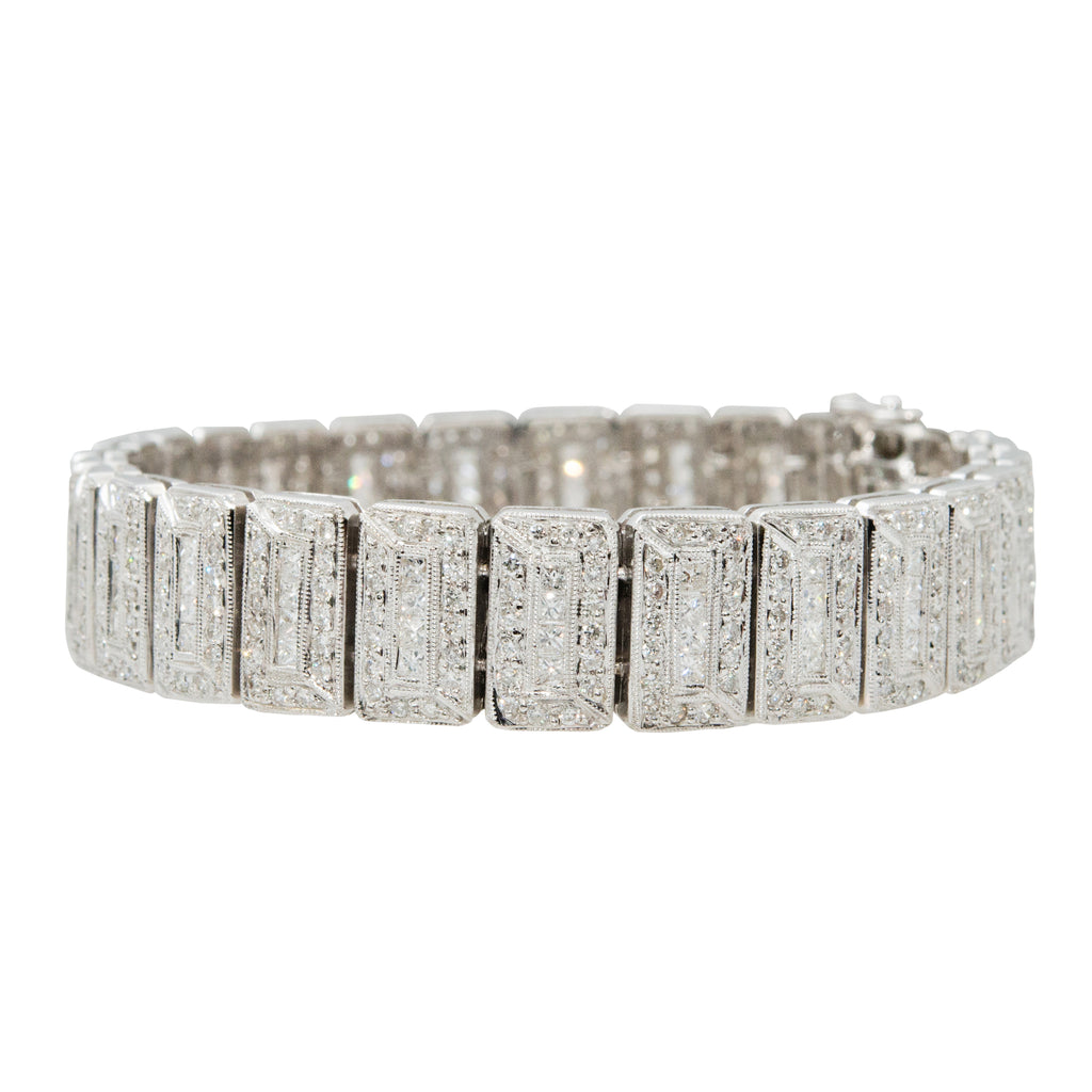 Multilink Diamond Bracelet
