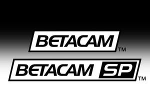 Beta, Betacam and Betacam SP