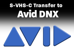 S-VHS, VHS, VHS-C to AVID DNX