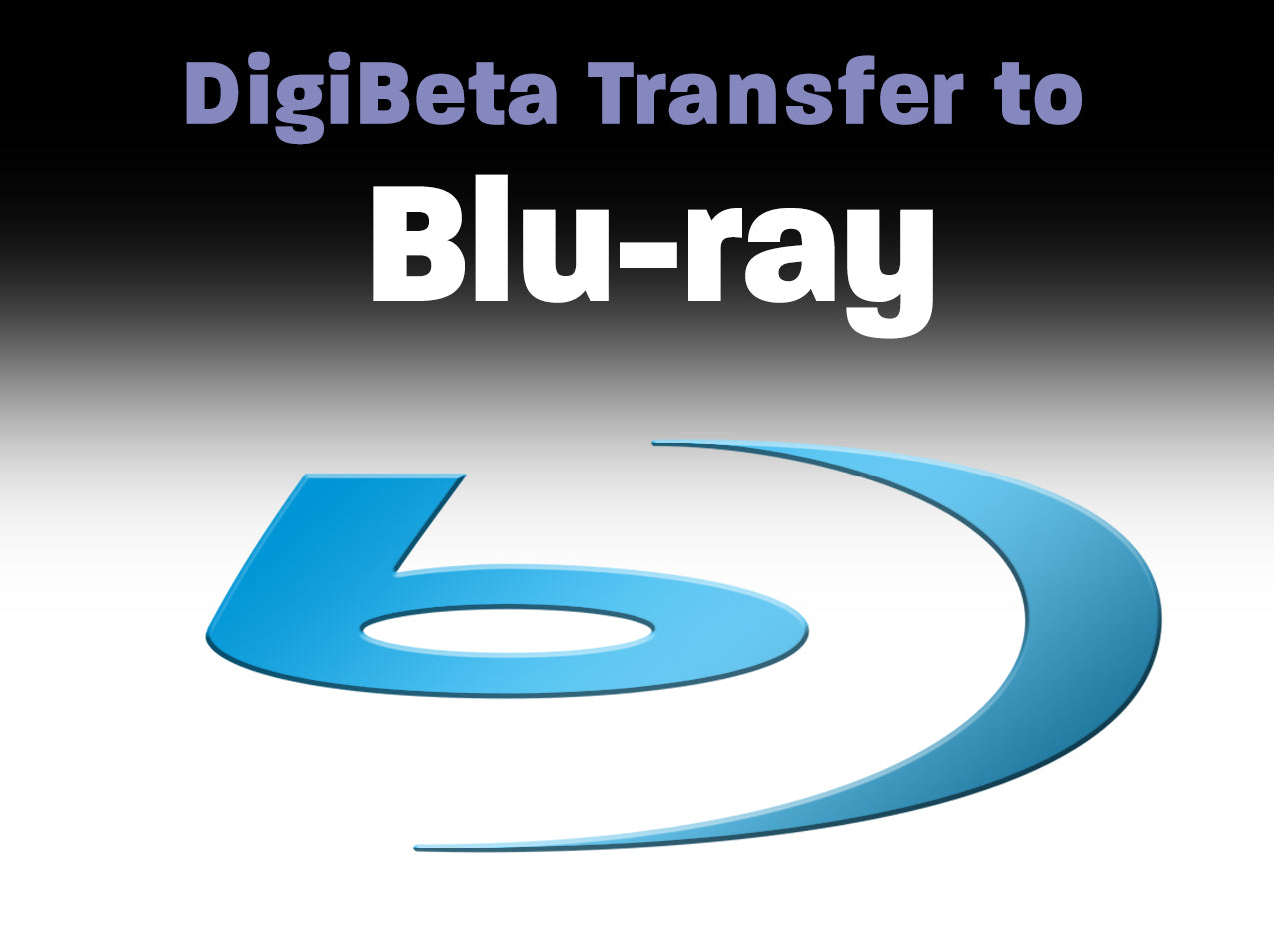 Digital Betacam to Blu-ray