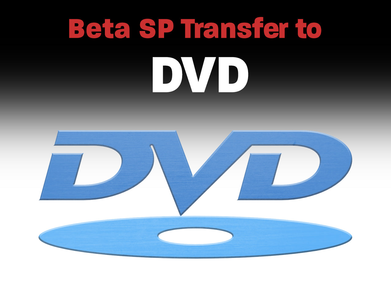 Betacam, Betacam SP to DVD