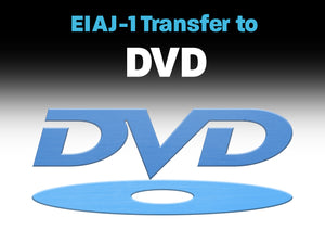 EIAJ-1 B&W or Color to DVD