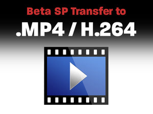 Betacam, Betacam SP to .MP4 / H.264