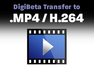 Digital Betacam to .MP4 / H.264