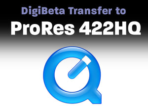 Digital Betacam to ProRes 422 HQ
