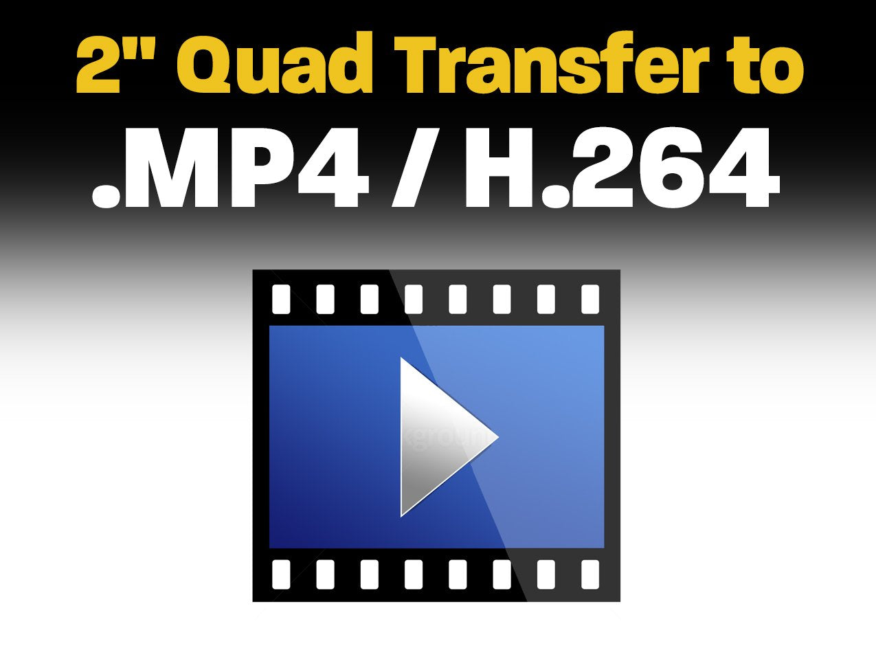 "2"" Quad Transfer to .MP4 / H.264"