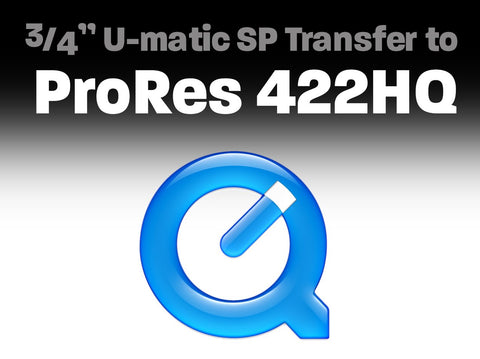 "3/4"" U-matic SP Transfer to ProRes 422 HQ"