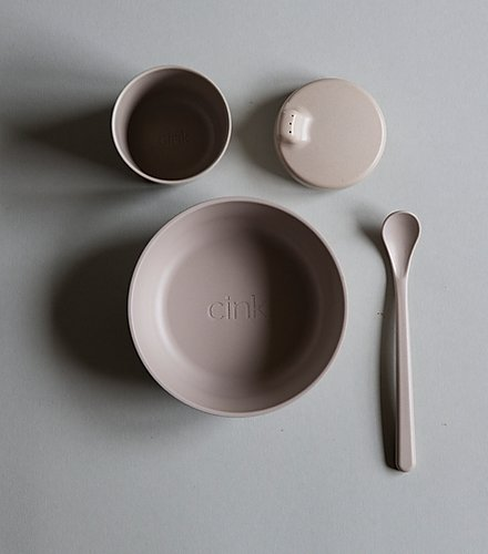 Baby Bamboo Dinner Set - Fog