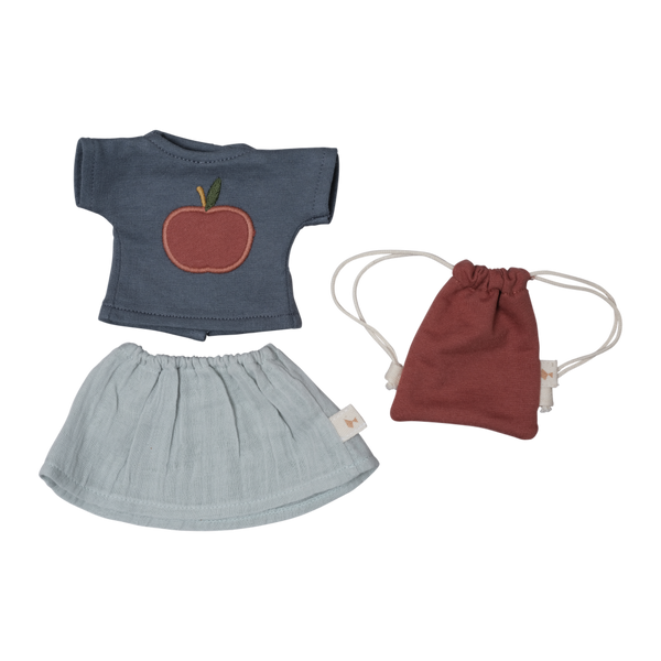 Big Doll Clothes set - T-shirt/Skirt
