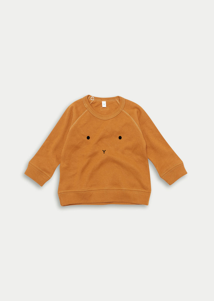 Organic cotton bunny jumper - Spice