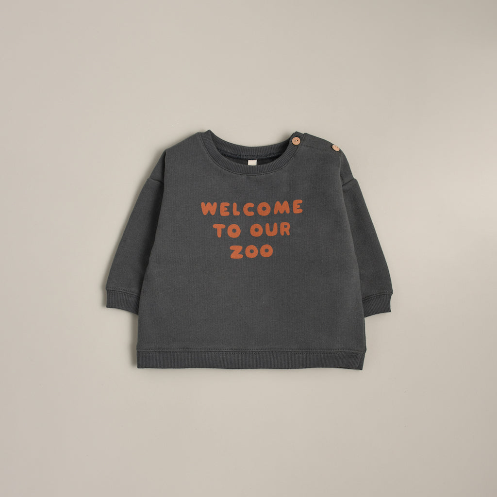 Welcome to our zoo Sweatshirt