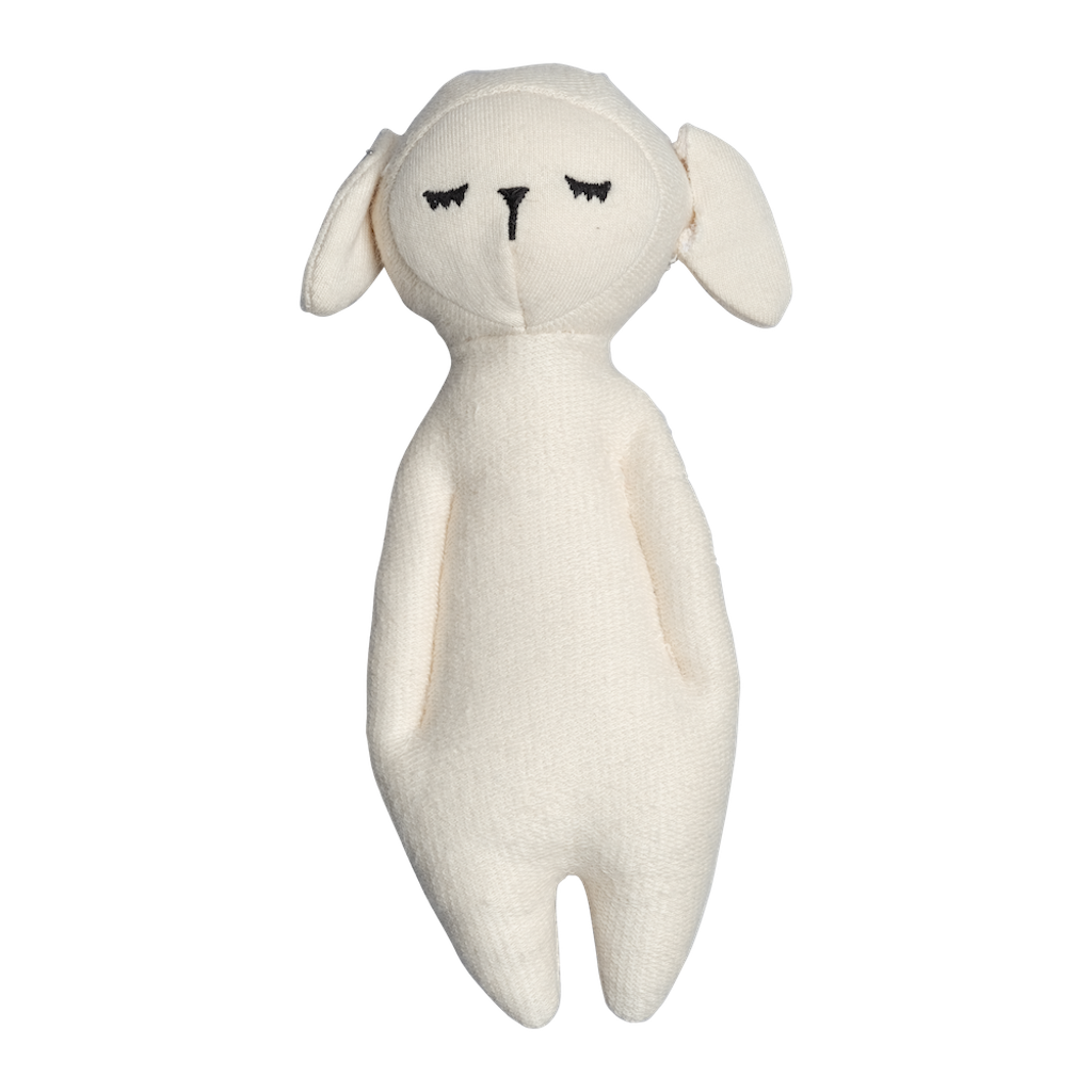 Soft Rattle Sheep - Cream