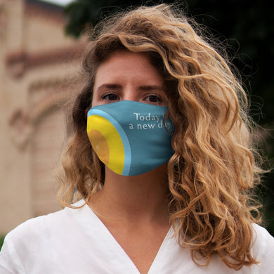 Snug-Fit Polyester Face Mask-