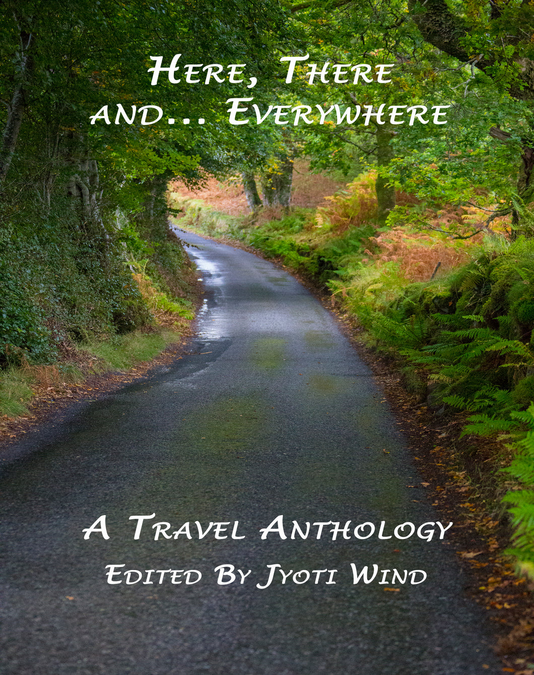 Here, There and... Everywhere: A Travel Anthology (Edited by Jyoti Wind) *USA MADE